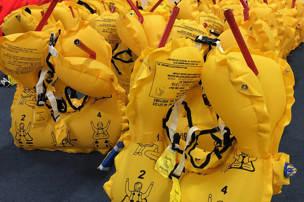 Inflatable Survival Equipment
